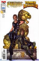 Witchblade/Tomb Raider Special #1 - Michael Turner (White) Cover